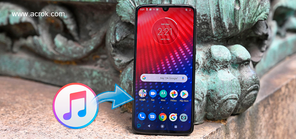 iTunes to Moto Z4 - Sync movies music from iTunes to Moto Z4
