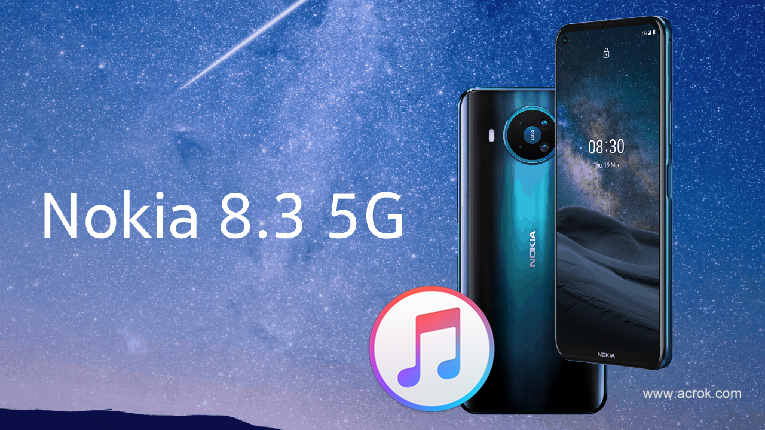 How to play iTunes moives music on Nokia 8.3